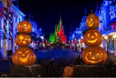 Halloween Disney Disneyland Walt Wallpapers Desktop Castle