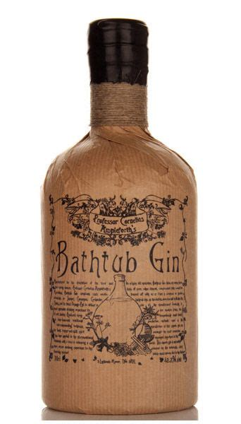 bathtub gin in of emergency glass then buy