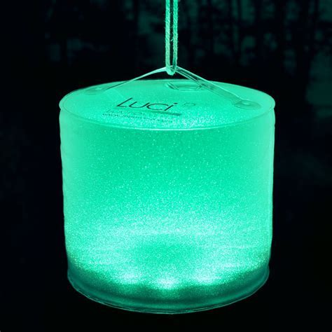 Luci Aura   Inflatable Color Changing Solar Lantern / Mood