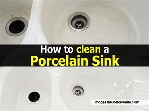 how to clean ceramic sinks in kitchen how to clean a porcelain sink 9328