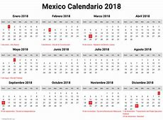 calendario 2018 mexico pdf newspicturesxyz