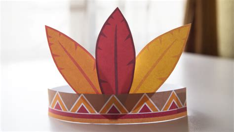 diy thanksgiving hats  kids  printables fairy