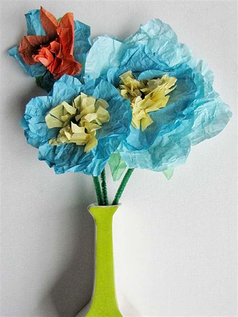 tissue paper crafts guide patterns