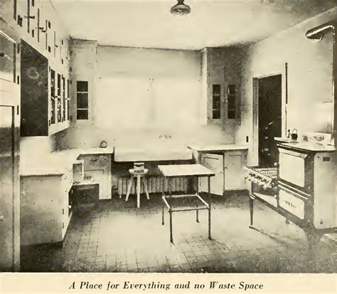 interior kitchen designs laurelhurst craftsman bungalow period book interiors 1916