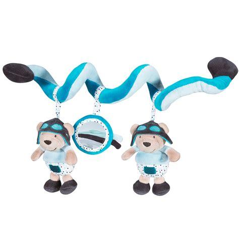 chambre sauthon bleu lazare spirale bleu de sauthon baby déco peluches à