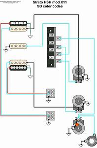 Guitar Hsh Wiring Diagram