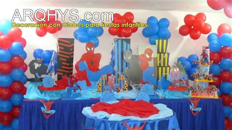 decoracion  globos  fiestas infantiles youtube