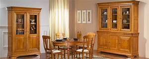 Meubles bois massifs salon chambre salle a manger for Meuble de salle a manger avec meuble en bois