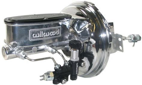 power brake booster wilwood polished master cylinder