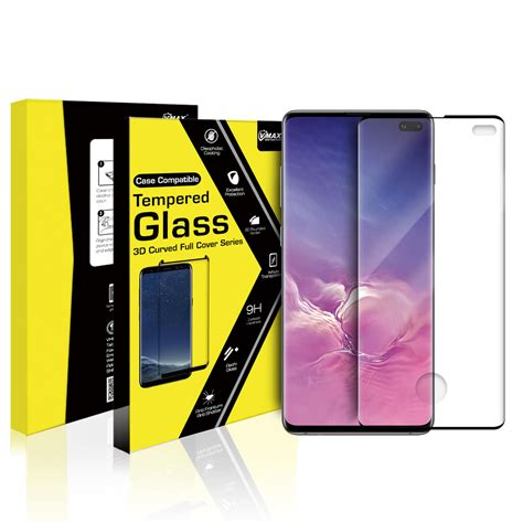 Samsung Galaxy S10 Plus 3D Curved Tempered Glass Screen
