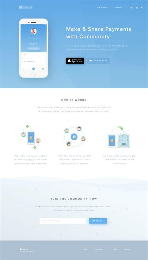 mobile web developer the 25 best mobile landing page ideas on