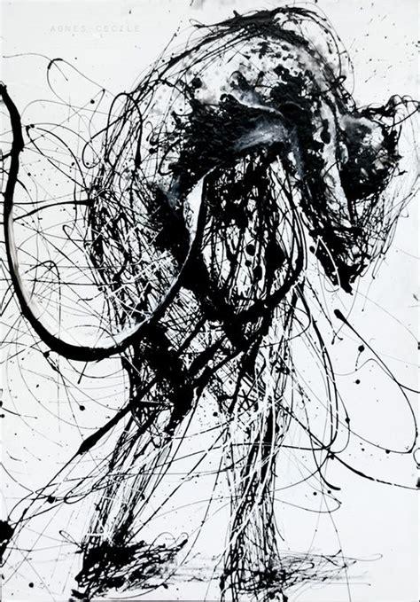 artist agnes cecile images  pinterest