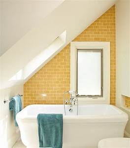 37 sunny yellow bathroom design ideas digsdigs With bathroom tiles designs and colors