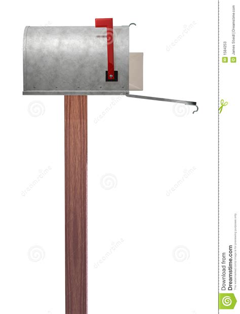 Mailbox Side View Stock Photos  Image 1584253