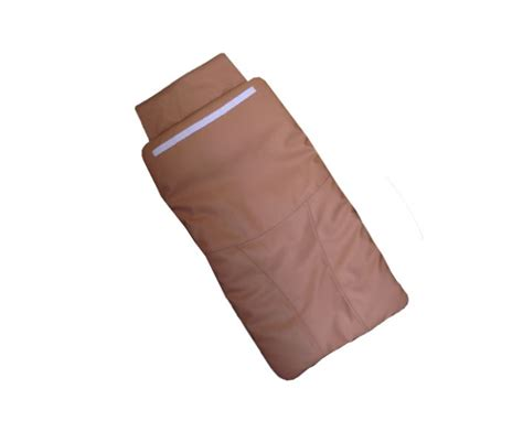 cappuccino back cushion leather cover for pedicure chair