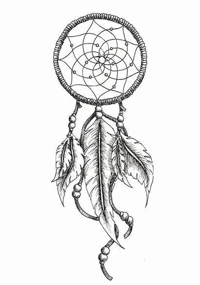 Catcher Dream Tattoo Tattoos Latest Dreamcatcher Drawings