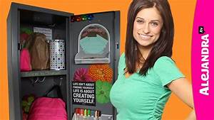 How to Organize Your Locker - Locker Organization