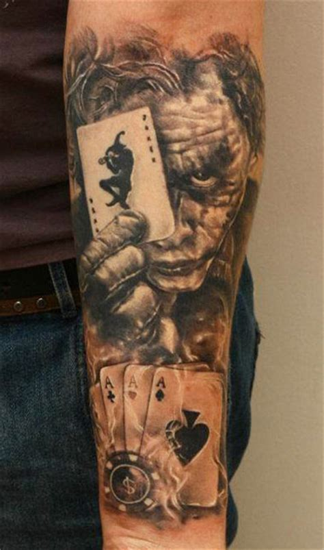 tatouage le joker batman  inkage