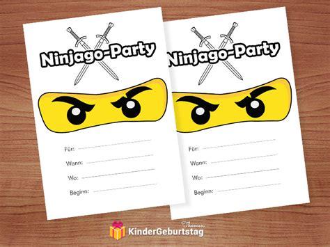 Wir zeigen ihnen wie sie den inhalt der datei trotzdem noch zu papier zu bringen. Ninjago Einladungskarten zum Kindergeburtstag oder Party