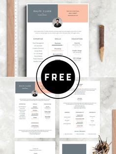 Artsy Resume Templates by Free Modern Resume Template That Comes With Matching Cover