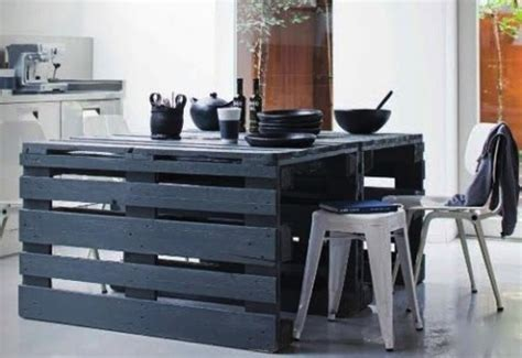 kitchen island made out of pallets pallet hacks scraphacker 9414