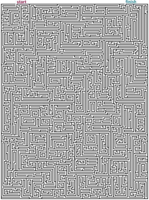 mazes  print mega rectangle mazes