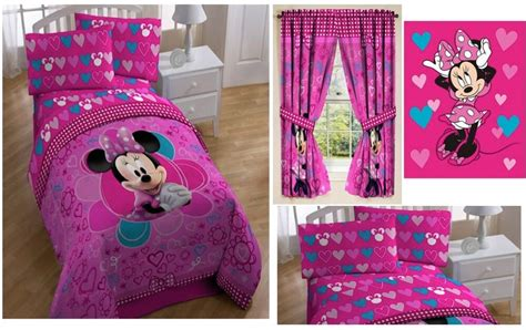 Kids Girls Disney Minnie Mouse Bedding Bed In A Bag