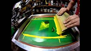 4 Color Cmyk Screen Printing Process