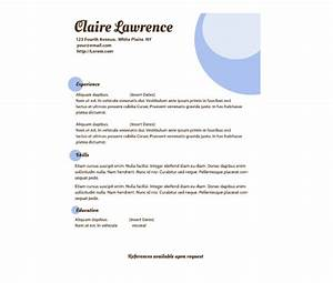 Download This Lavender Orbs Resume Template And Other Free Printables From Myscrapnook Com
