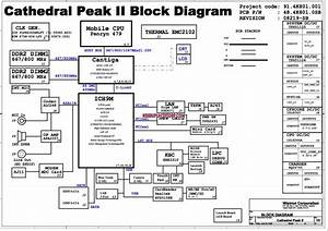 Acer Aspire 5235 5535 5735z Cpii Cathedral Peak Ii Laptop Schematic