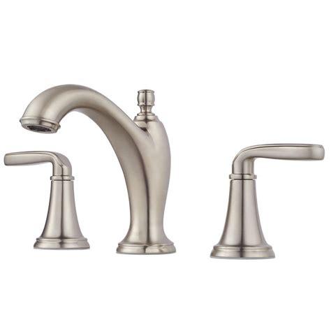 pfister 8 in widespread 2 handle waterfall bathroom