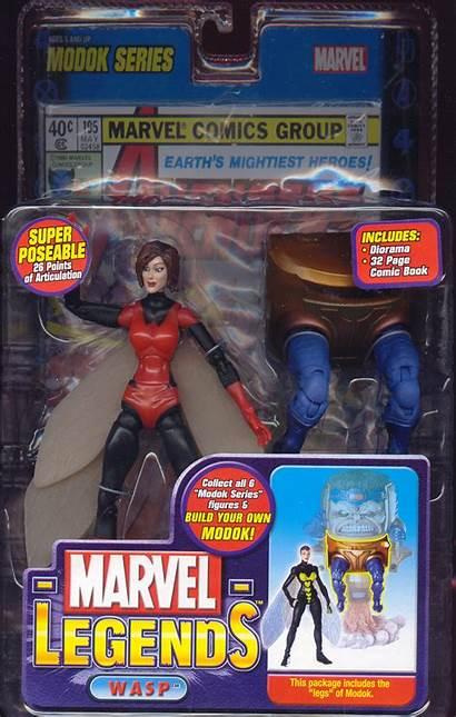 Wasp Marvel Legends Action Variant Figure Figures