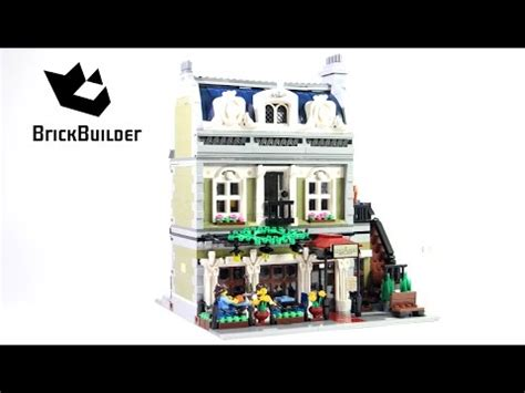 lego creator 10243 parisian restaurant new lego creator 10243 parisian restaurant lego speed build