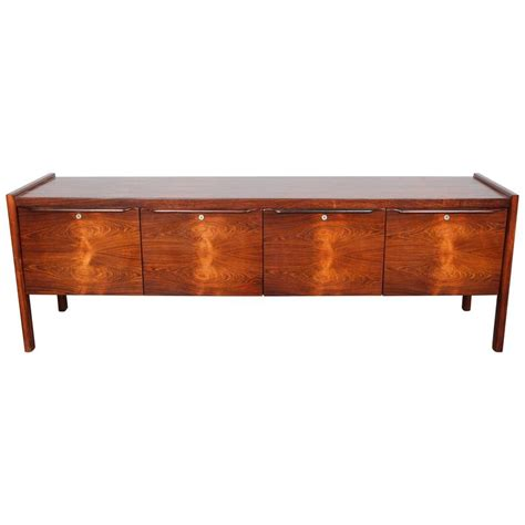 mid century file cabinet canadian mid century modern rosewood file cabinet at 1stdibs