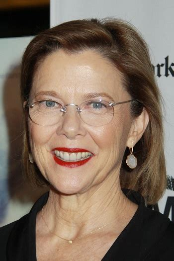 hairstyles annette bening long layered hairstyle