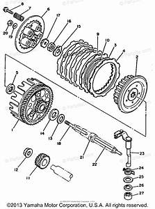 Yamaha Atv 1991 Oem Parts Diagram For Clutch