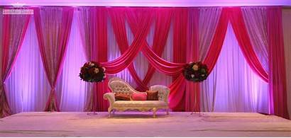 Stage Decoration Decor Backdrops Ceremony Floral Naming