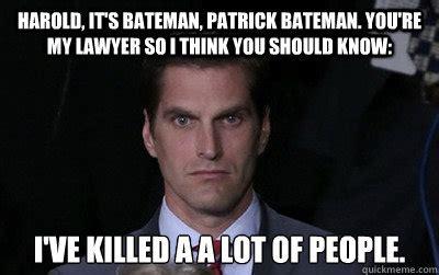 Patrick Bateman Meme - patrick bateman meme