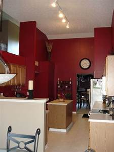 best 25 red kitchen walls ideas on pinterest red paint With kitchen colors with white cabinets with cigar box wall art