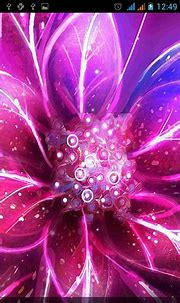 Neon flowers by Live Wallpapers Gallery live wallpaper for ...