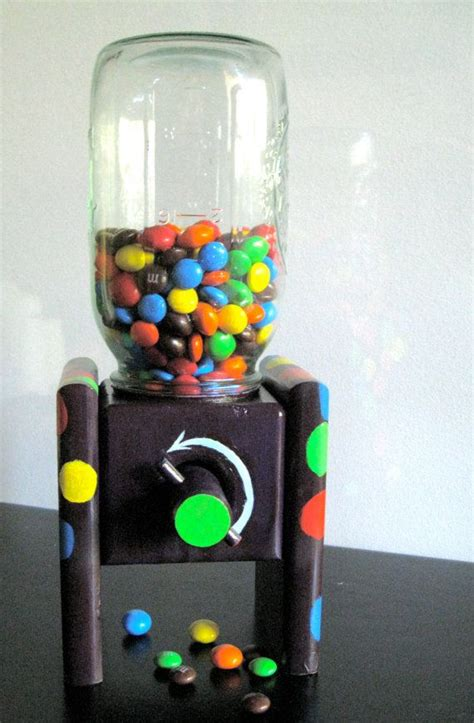 masonjarcandydispenserplans playful candy dispenser
