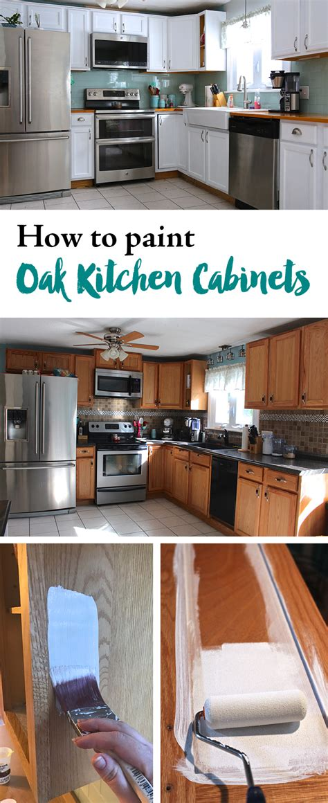 how to paint new kitchen cabinets how to paint oak kitchen cabinets weekend craft 8811