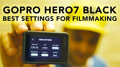absolute settings gopro hero black