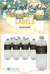 91 best 50th birthday party ideas images on pinterest With 80th birthday water bottle labels
