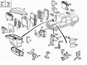 1998 Mercede E320 Wiring Diagram