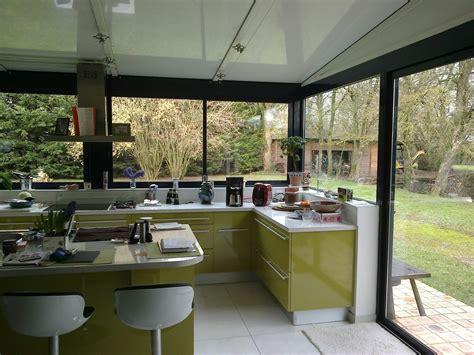 cuisine veranda photos cuisine dans une véranda extension maison