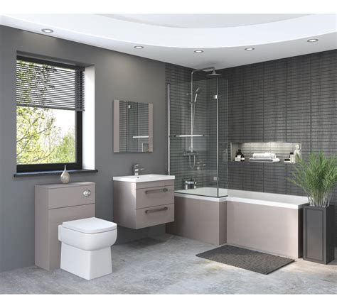 essential nevada shower bath bathroom furniture wall