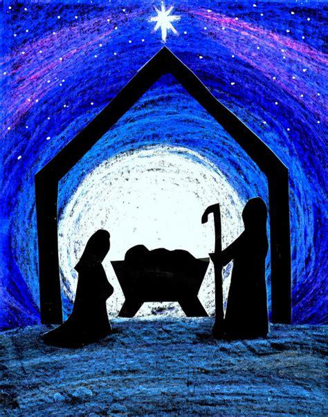 nativity silhouette clip art  vector clip art  clip art images