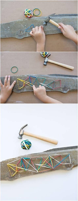 easy diy wooden geoboard woodworking projects  kids