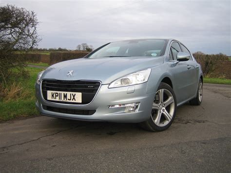 peugeot saloon peugeot 508 has rivals looking in rear view mirrors